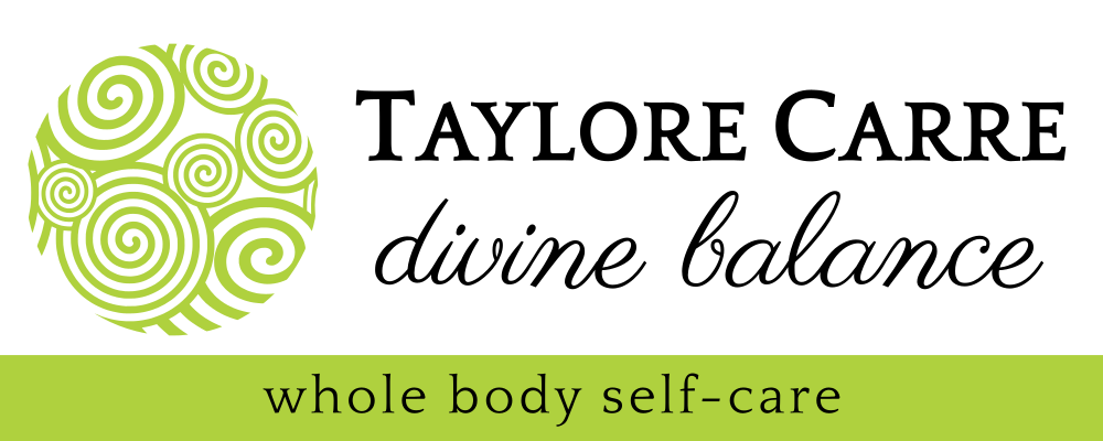 Taylore Carre's Divine Balance Yoga & Yamuna Body Rolling Logo